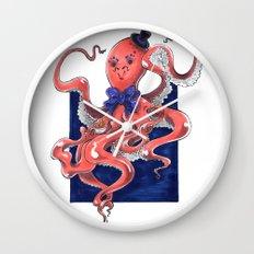 ::Mister Octopus:: Wall Clock