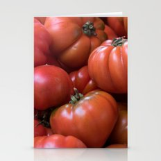 Tomato Pattern Stationery Cards
