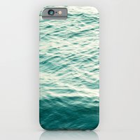 iPhone Cases featuring Blue Water by The Last Sparrow