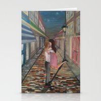 A Kiss in Paris Stationery Cards