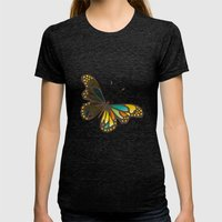 Transforming Womens Fitted Tee Tri-Black SMALL