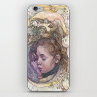 iPhone & iPod Skin featuring Dreaming by Busymockingbird