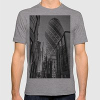 London Gherkin, London Mens Fitted Tee Athletic Grey SMALL