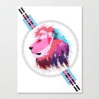 Leon neon Canvas Print