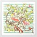 Sea, Sun and Fun - Pt. 1  Art Print