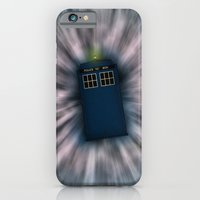iPhone & iPod Case featuring Doctor Who - Call me a Doctor..... Allons-y! by Adam James