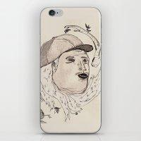 Cabello Blanco iPhone & iPod Skin