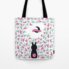 Midnight bunny Tote Bag