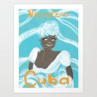 Bienvenido! Las Isla de Paradiso Art Print