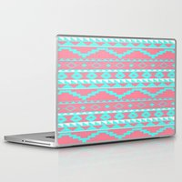 aztec Laptop & iPad Skins featuring AZTEC by Acus
