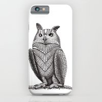 iPhone & iPod Case featuring Owl by Elisa Camera