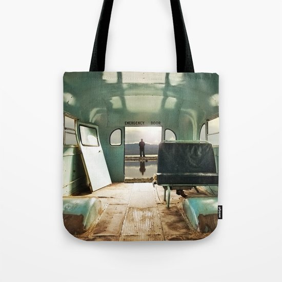Emergency Door Tote Bag