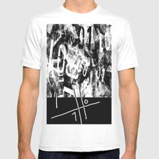 01 White Mens Fitted Tee SMALL