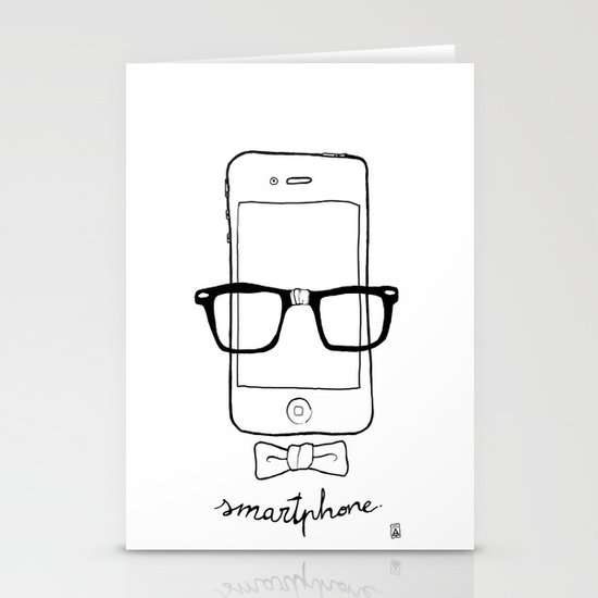 Smartphone Stationery Card