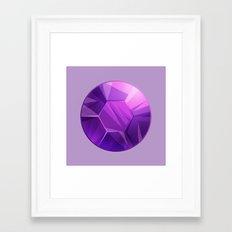 Amethyst gem - Steven Universe Framed Art Print