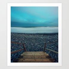 Stairway to the Atlantic Art Print