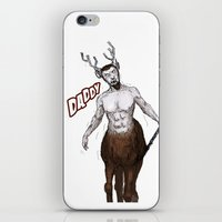 Santa's present, from reindeer. iPhone & iPod Skin