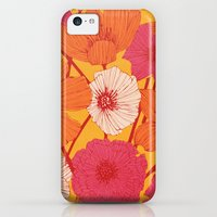 iPhone 5c Cases featuring Summer Flowers by Tracie Andrews