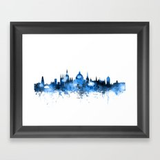 Oxford England Skyline Framed Art Print