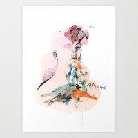 Diamond Mind Art Print
