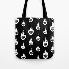Burning Diamonds Tote Bag