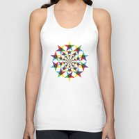 Star Space Unisex Tank Top