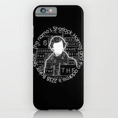 Sherlock BBC: Type Slim Case iPhone 6s