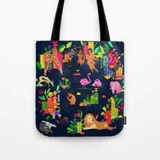 In The City: Urban Tote Bag