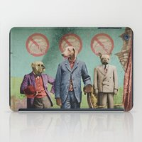 The Three Distinguished Members of the Committee to Handle the Squirrel Problem iPad Case