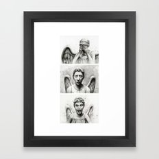 Weeping Angels  Framed Art Print
