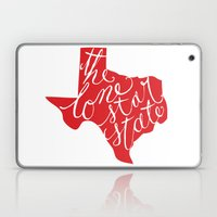 The Lone Star State - Texas Laptop & iPad Skin