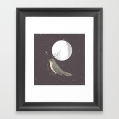 NIGHTINGALE Framed Art Print