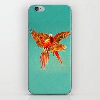 INFLIGHT FIGHT iPhone & iPod Skin