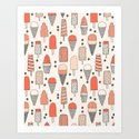 Ice Cream Season Art Print