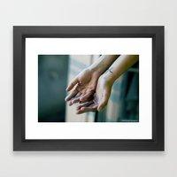 Alive. Framed Art Print