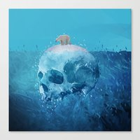 Save the Arctic Canvas Print