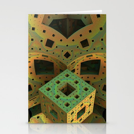 Puzzle Box Stationery Card