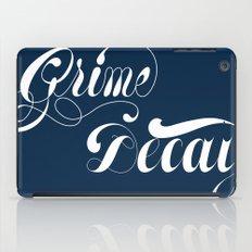 Grimey Type. iPad Case