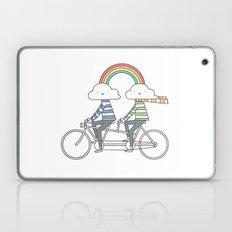 Love makes life a beautiful ride Laptop & iPad Skin
