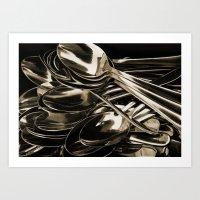Spoon Art Print