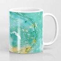 Blue Fantasy Planet Mug