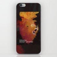 INDIANA - Heart On Fire iPhone & iPod Skin