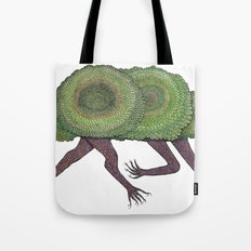 Creeping Shrubbery Tote Bag