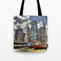 NYC Harbor, South Seapor… Tote Bag