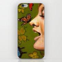 Butterfly Garden iPhone & iPod Skin