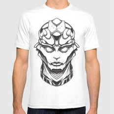 Mass Effect. Thane White Mens Fitted Tee SMALL