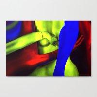 The Rape of Venus Canvas Print