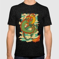 Serpent of the Wind Mens Fitted Tee Tri-Black SMALL