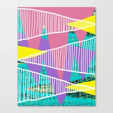 JungleParty Canvas Print