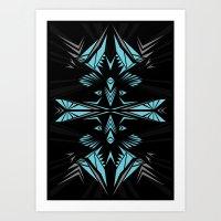 Mint shape Art Print